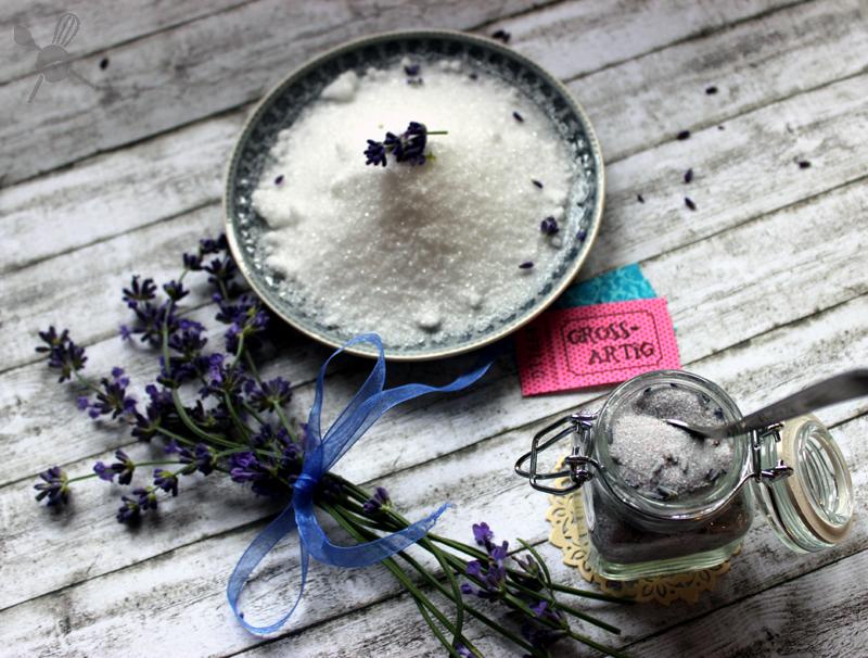 Lavendelzucker1