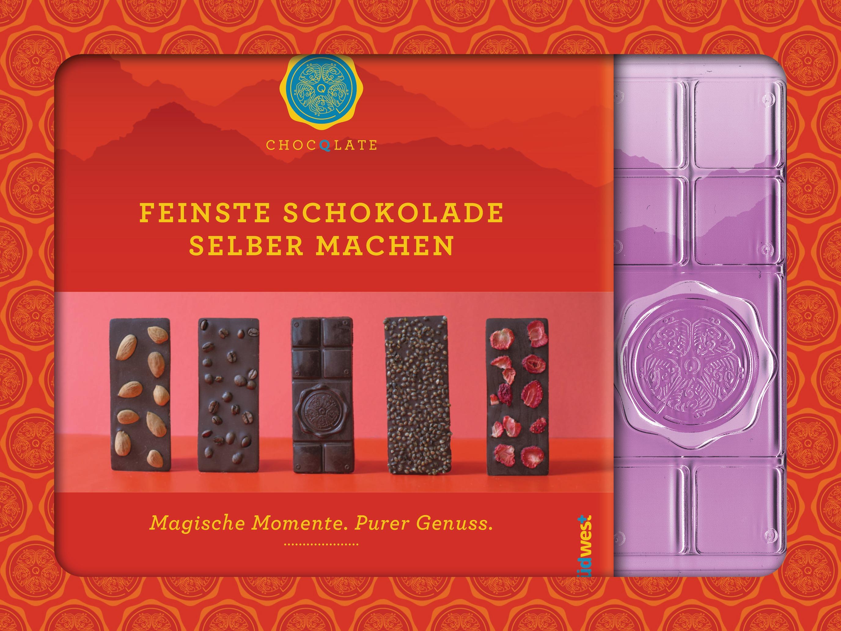 Feinste Schokolade selber machen von Julia Brodbeck